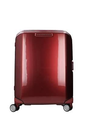Piquadro Trolleys cubica 34l Damen Polycarbonat Rot Bordeaux
