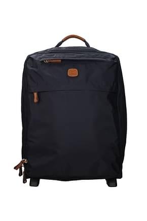 Bric's Wheeled Luggages 35l Hombre Poliamida Azul marino Océano
