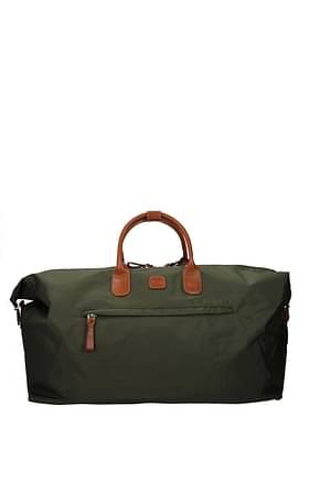 Bric's Sacs de voyage Femme Tissu Vert Olive