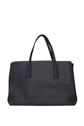 Zanellato Shoulder bags duo gt l blandine Women Fabric  Blue Adriatic