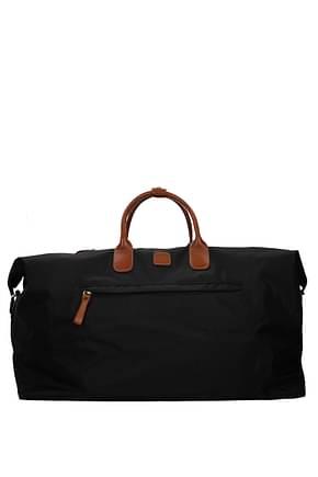Bric's Sacs de voyage Femme Tissu Noir