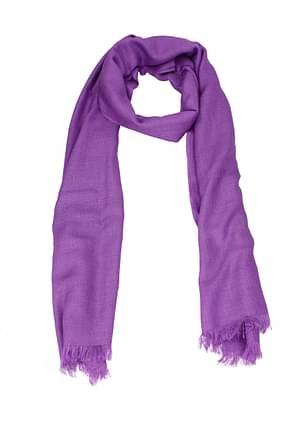Cruciani Foulard Women Cashmere Violet