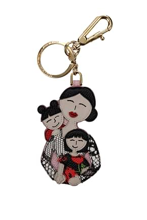 Key rings Dolce&Gabbana patch d&g family Woman