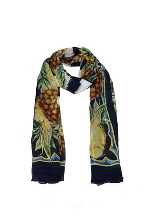 Dolce&Gabbana Foulard Donna Seta Multicolor