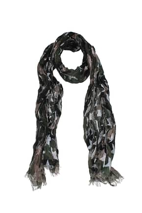 Valentino Foulard Men Linen Green