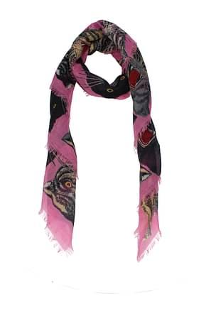 Gucci Foulards Femme Cachemire Rose
