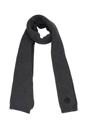 Dsquared2 Scarves Men Wool Gray