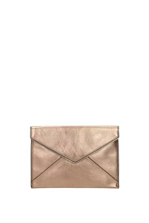 Rebecca Minkoff Clutches Women Leather Pink