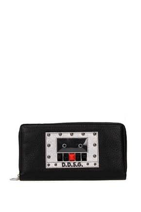 Dolce&Gabbana Wallets Women Leather Black