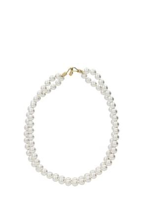 Stella McCartney Necklaces Women Brass White