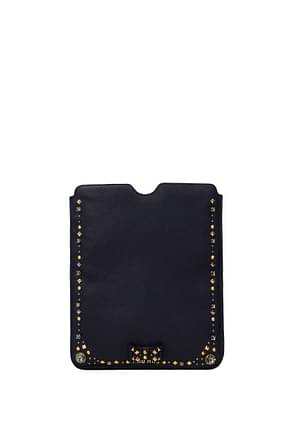 Miu Miu iPad cover Women Leather Blue
