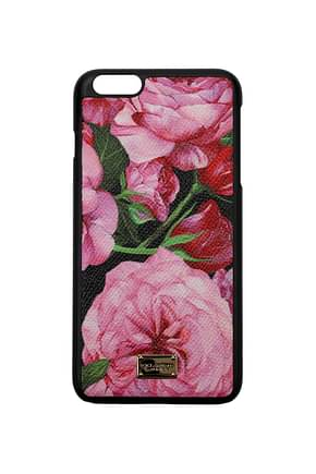Dolce&Gabbana iPhone cover iphone 6 g plus Women Fabric  Pink