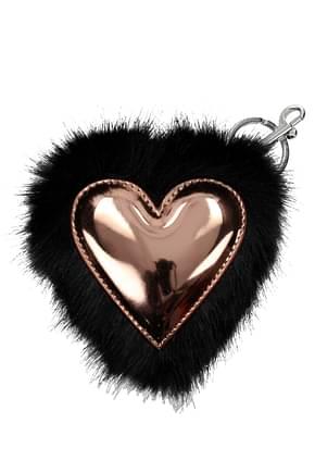 Stella McCartney Key rings Women Eco Fur Black