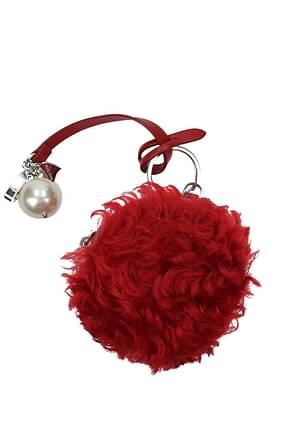 Miu Miu Llaveros Mujer Pelaje Rojo