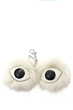 Stella McCartney Key rings Women Eco Leather White