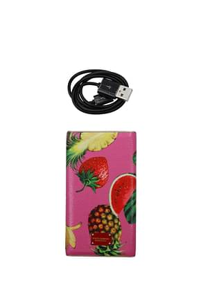 Dolce&Gabbana Gift ideas battery charger Women Leather Pink