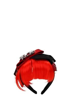 Dolce&Gabbana Hair accessories Women Silk Multicolor