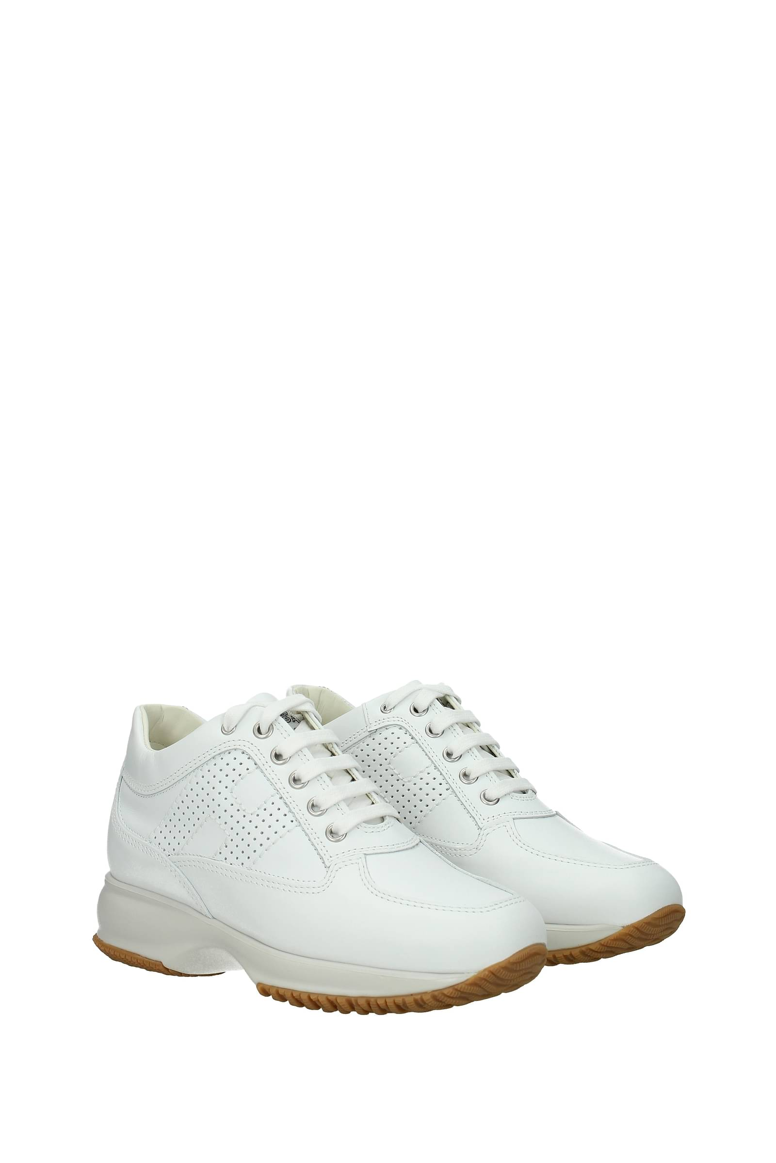 Hogan Sneakers interactive Women Leather White