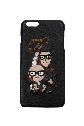 Dolce&Gabbana iPhone cover iphone 6g plus Men Leather Black