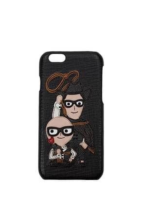 Dolce&Gabbana iPhone cover iphone 6g Men Leather Black