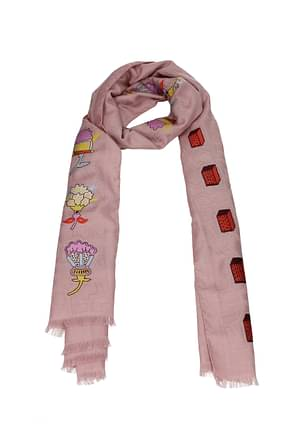 Valentino Scarves Women Wool Pink