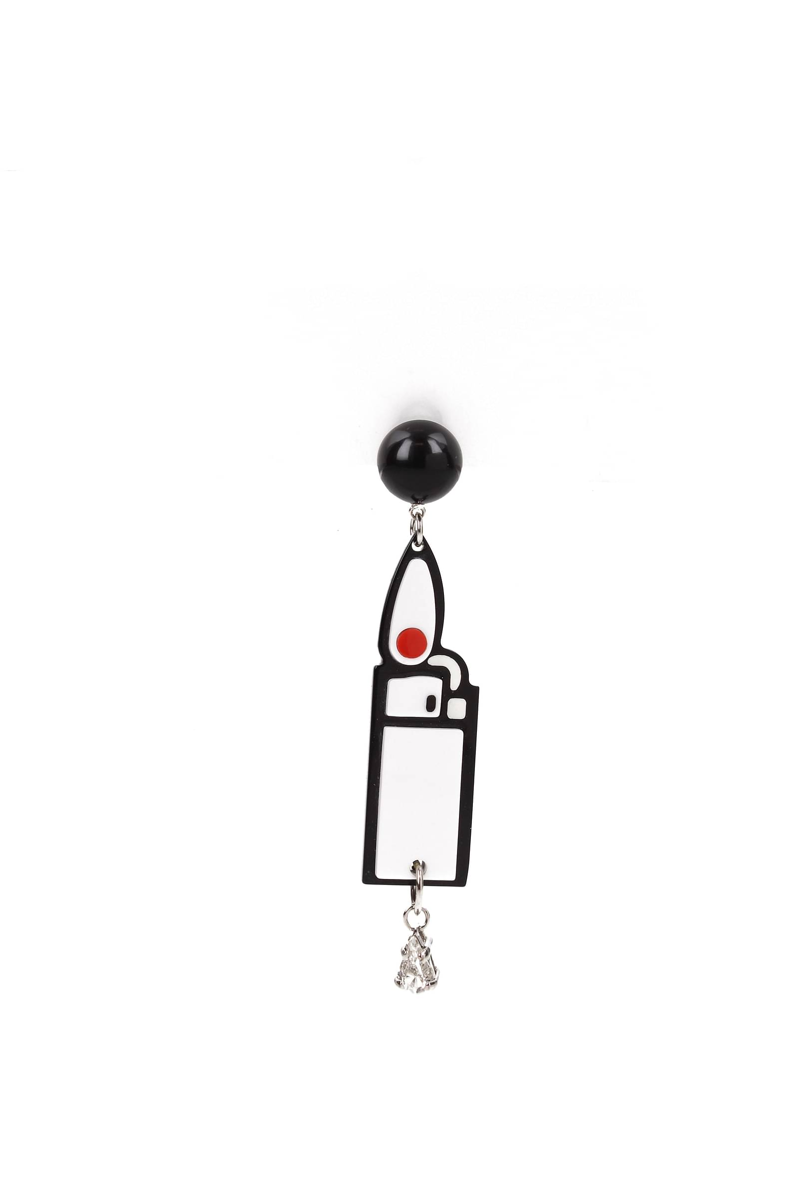 Orecchini-Miu-Miu-single-earring-Donna-Plexiglass-5JO085PLEXCRYSTAL miniatura 2