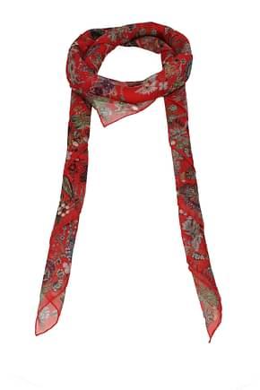 Alexander McQueen Foulard Women Silk Red
