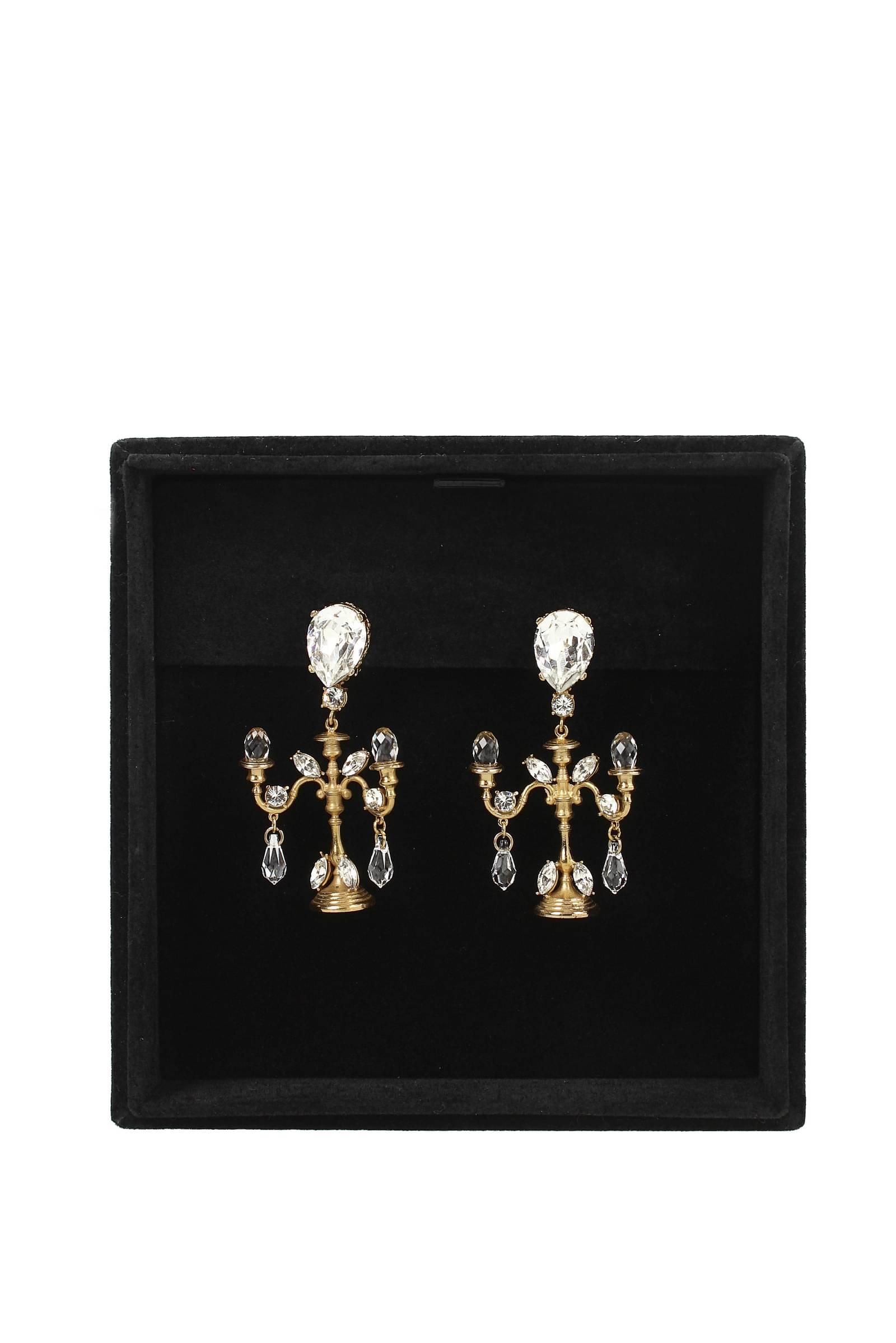 Orecchini-Dolce-amp-Gabbana-Donna-Ottone-WEIBX2W0001 miniatura 2