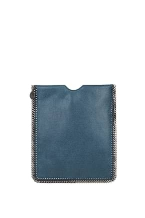 Stella McCartney Porta iPad Donna Eco Pelle Blu