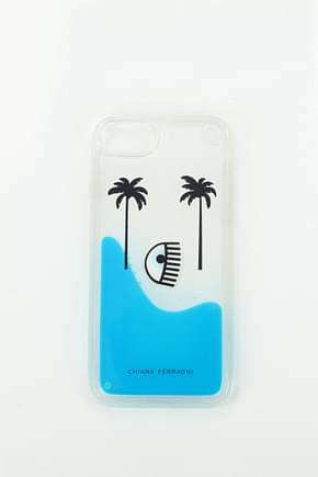 Porta iPhone Chiara Ferragni iphone 8 palms beach Donna