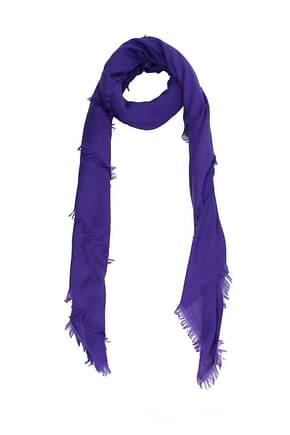Gucci Scarves Women Wool Violet