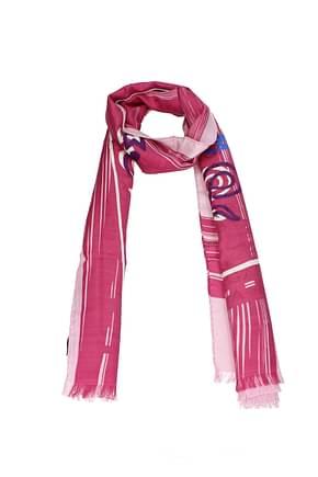 Bulgari Foulard Women Silk Pink