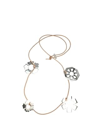 Tory Burch Necklaces Women Metal Silver