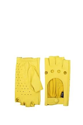 Zanellato Gloves Women Leather Yellow