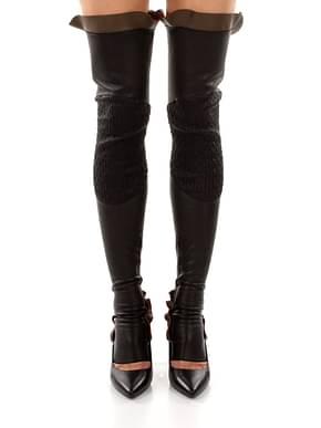 Socks Fendi half chap Women