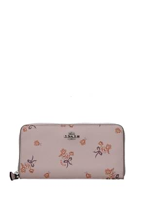 Coach Women Leather Pink