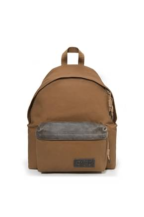 Eastpak Backpack and bumbags padded pak'r Men Fabric  Brown