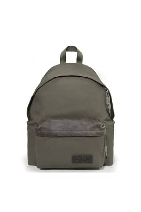 Eastpak Backpack and bumbags padded pak'r Men Fabric  Green