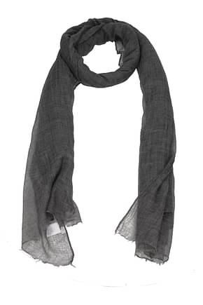 Brunello Cucinelli Scarves Women Cashmere Gray
