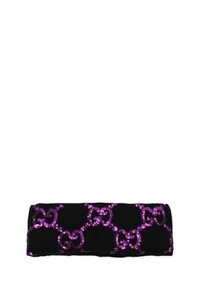 Gucci Accessoires pour cheveux Femme Laine Noir