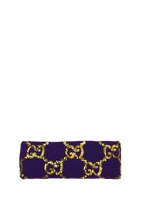 Gucci Hair accessories Women Wool Violet