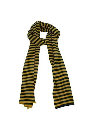 Altea Scarves Men Wool Yellow
