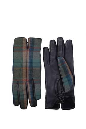 Etro Gloves Men Wool Multicolor