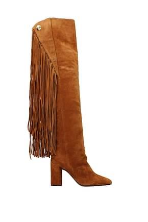 Chloé Boots Women Suede Brown
