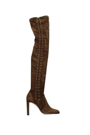 Jimmy Choo Boots marie Women Suede Brown