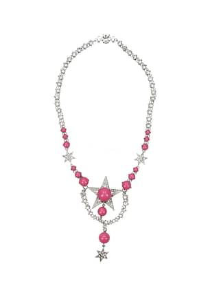 Miu Miu Necklaces Women Stainless Steel Silver