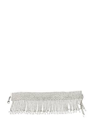 Miu Miu Necklaces Women Silver