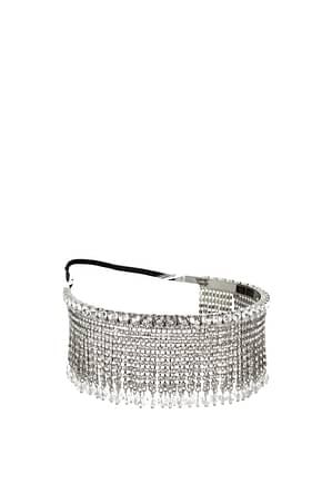 Miu Miu Hair accessories Women Silver