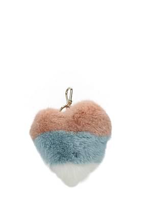 Furla Key rings bubble Women Fur  Beige