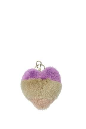 Furla Key rings bubble Women Fur  Violet